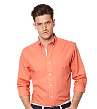 Nautica® Men's Coral Resort Long Sleeve Solid Shirt