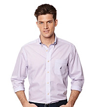 Nautica® Men's Pastel Lilac Long Sleeve Shirt