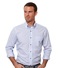 Nautica® Men's Provence Long Sleeve Stripe Shirt