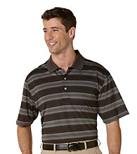 PGA TOUR® Men's Dark Shadow Short Sleeve Energy Striped Polo