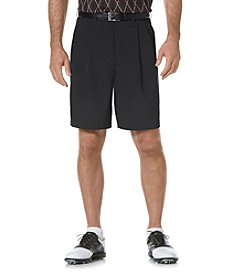 PGA TOUR® Men's Caviar Double Pleated Tech Golf Short