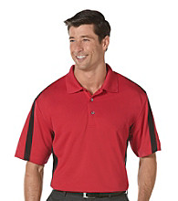 PGA TOUR® Men's Jazzy 2-Tone Blocked Polo