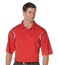 PGA TOUR® Men's Lollipop Red Ergo Print Polo