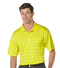 PGA TOUR® Men's Buttercup Short Sleeve Solarized Striped Polo