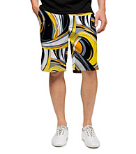 Loudmouth® Men's Swirls Gone Wild Printed Golf Short