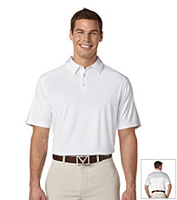 Callaway® Men's Bright White Short Sleeve Color Block Razor Polo