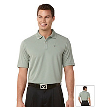 Callaway® Men's Shadow Short Sleeve Razor Polo