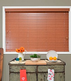 Blaze Faux Wood Blind by Chicology® *