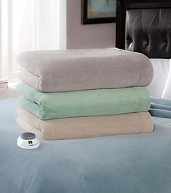 Serta® Luxe Plush Warming Electric Blanket