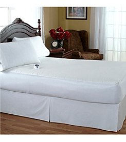 Serta® Waterproof Warming Electric Mattress Pad