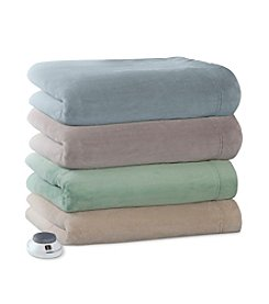 Serta® Luxe Plush Warming Electric Throw
