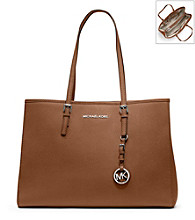 MICHAEL Michael Kors® Large Jet Set Leather Travel Tote