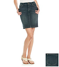 Ruff Hewn Denim Pencil Skirt