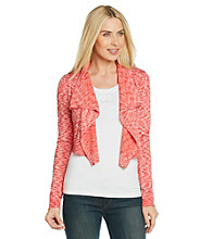 MICHAEL Michael Kors® Spacedye Drape Shrug