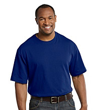 Harbor Bay® Men's Big & Tall Deep Ultramarine Blue Short Sleeve Wicking Tee