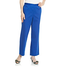 Alfred Dunner® Petites' French Riviera Pull On Pant