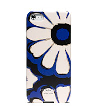 COACH FLORAL SCARF PRINT IPHONE 5 CASE