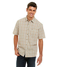 Bass® Men's Safari Corded Plaid Button Down Shirt