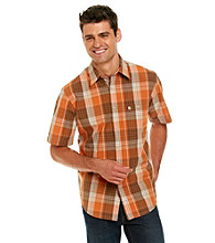 Bass® Men's Corded Large Plaid Poplin Button Down Shirt