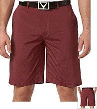 Callaway® Men's Paradise Red 2-Tone End-on-End Tech Short