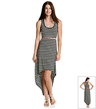 Sequin Hearts® Juniors' Stripe Maxi Dress