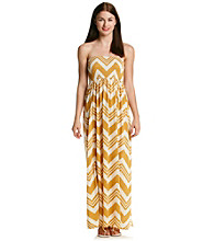Fire® Juniors' Smocked Strapless Maxi Dress