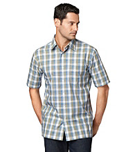 Van Heusen® Men's Havana Plaid Textured Button Down Shirt