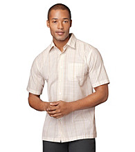 Van Heusen® Men's Havana Striped Textured Button Down Shirt
