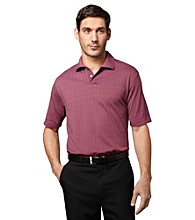 Van Heusen® Men's Short Sleeve Micropoly Boxed Printed Polo