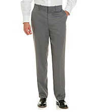 Savane® Men's Flat Front Soft Touch Microfiber Casual Pant