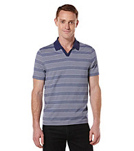 Perry Ellis® Men's Amalfi Short Sleeve Thin Stripe Polo