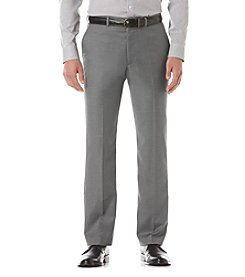 Perry Ellis® Men's Iron Ore Heather Suit Separates Regular Fit Pants