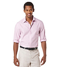 Perry Ellis® Men's Rosa Long Sleeve Iridescent Button Down Shirt