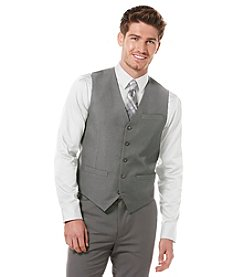 Perry Ellis® Men's Iron Ore Heather Suit Separates Regular Fit Vest