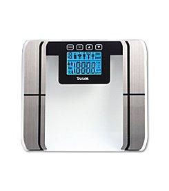 Taylor® Glass Body Fat Analyzer Scale
