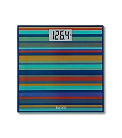 Taylor® Striped Glass Digital Scale