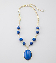 Studio Works® Blue Pendant Necklace