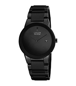 Citizen® Eco-Drive Men's Black Ion Plated Axiom Watch