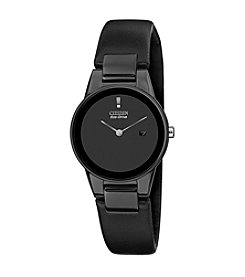 Citizen® Eco-Drive Women's Black Ion Plated Axiom Strap Watch