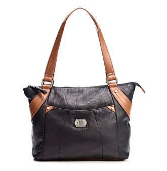 Stone Mountain® Black Springfield Tote