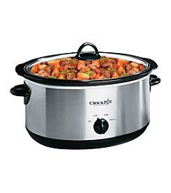 Crock-Pot® 7-qt. Stainless Steel Manual Slow Cooker