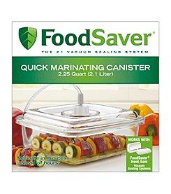FoodSaver Quick Marinator 2.25-qt. Square Canister