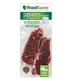 FoodSaver 28 1-Gallon Vacuum Sealing Bags