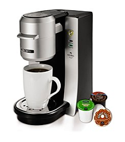 Mr. Coffee® Silver Single-Serve Brewing System