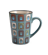 Pfaltzgraff® Everyday Geometric Blue Mug