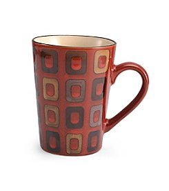 Pfaltzgraff® Everyday Geometric Red Mug