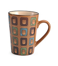 Pfaltzgraff® Everyday Gold Square Geometric Mug