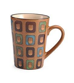 Pfaltzgraff® Everyday Gold Square Geometric Mug