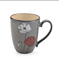 Pfaltzgraff® Everyday Gray Poppy Mug