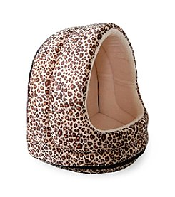 PAW™ Furry Canopy Cave Cheetah Pet Bed